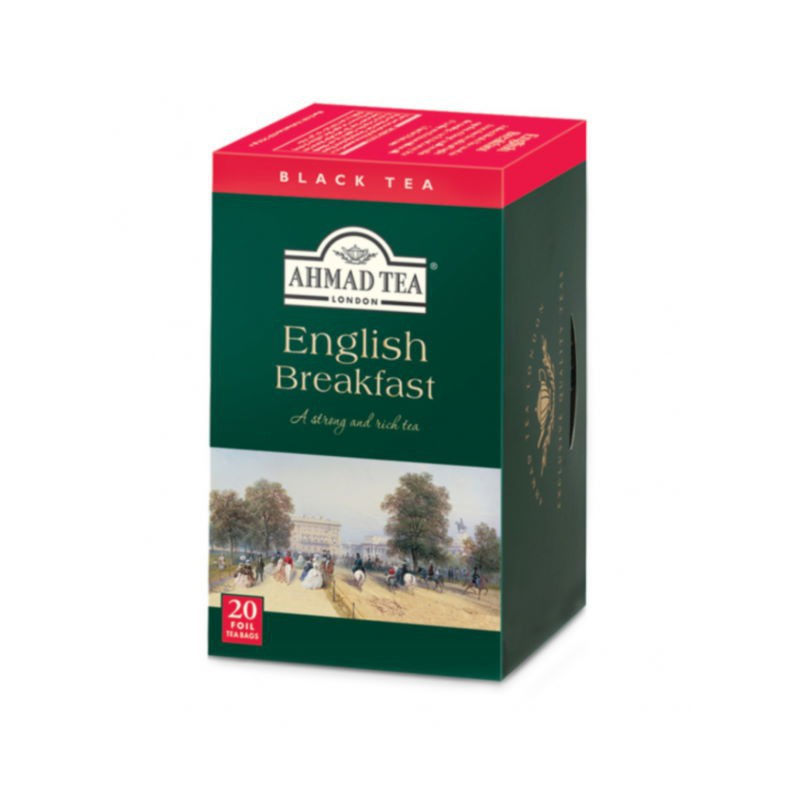 English breakfast filtro Ahmad tea
