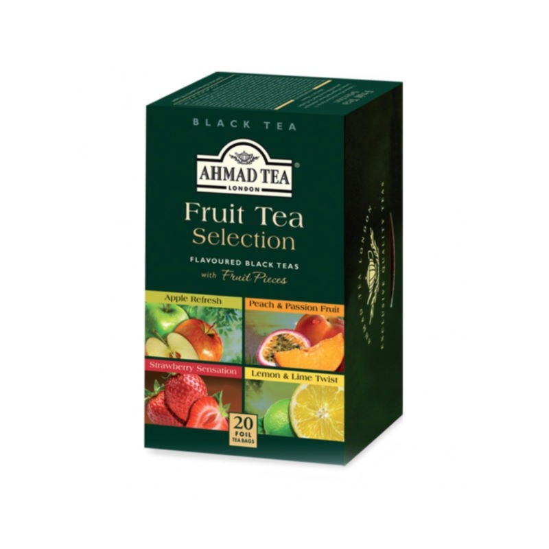 Fruit tea selection filtro Ahmad tea
