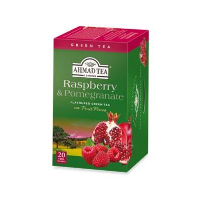 Raspberry & pomegranate filtro Ahmad tea
