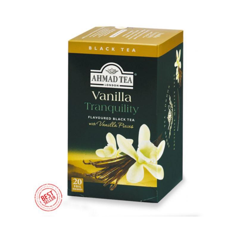 Vanilla filtro Ahmad tea
