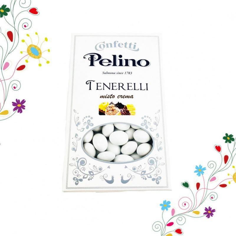 Confetti tenerelli assortiti alle creme Pelino