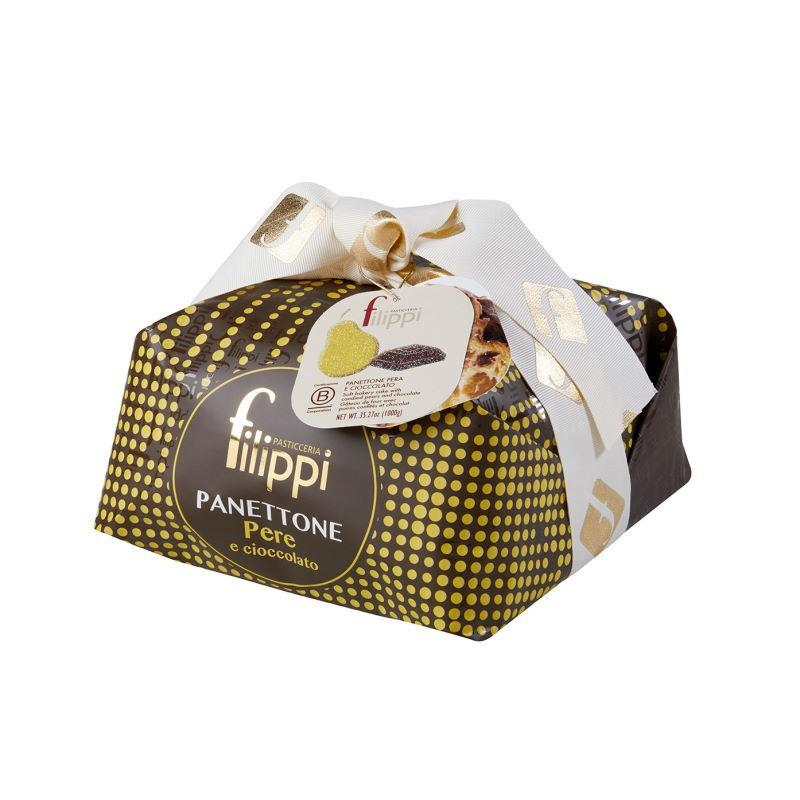 Panettone Pere e Cioccolato Filippi