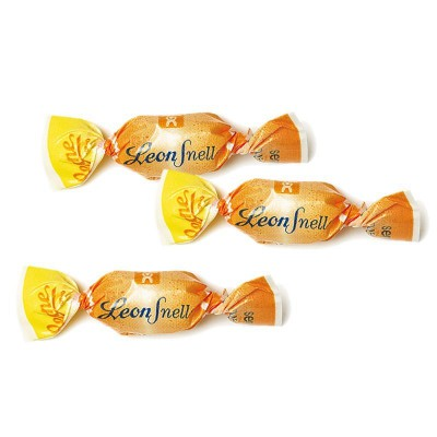 Caramelle Arancia senza zucchero Leonsnella Leone