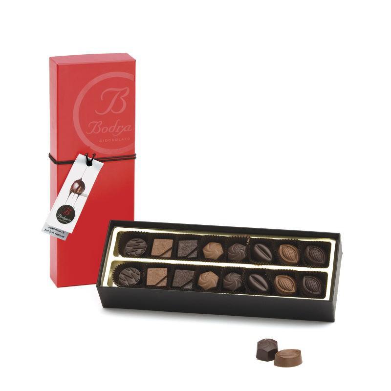 Scatola Degustazione 16 Cioccolatini Assortiti Bodrato