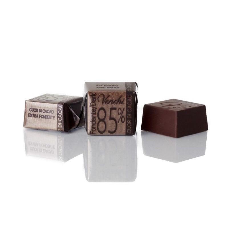 Cioccolatini Cubotto Puro Fondente 85% Venchi