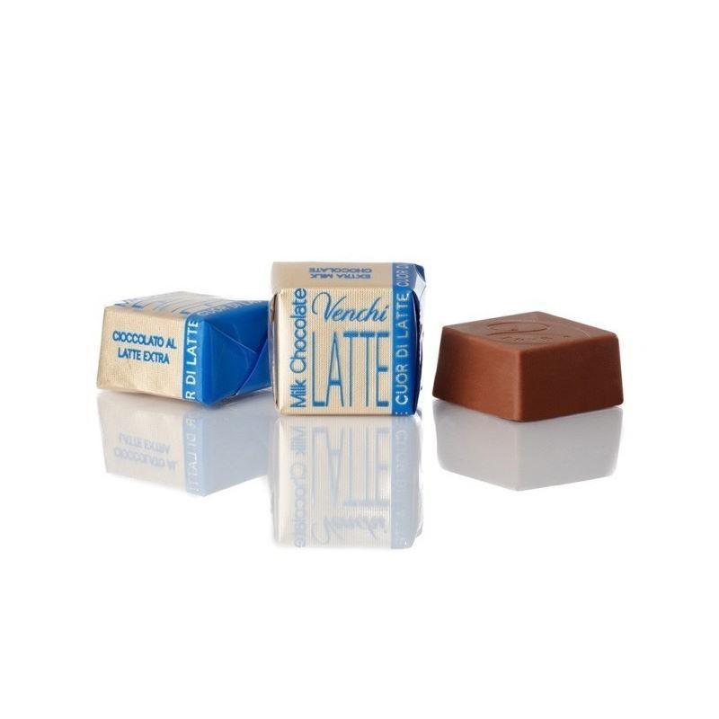 Cioccolatini Cubotto Puro Latte extra Venchi