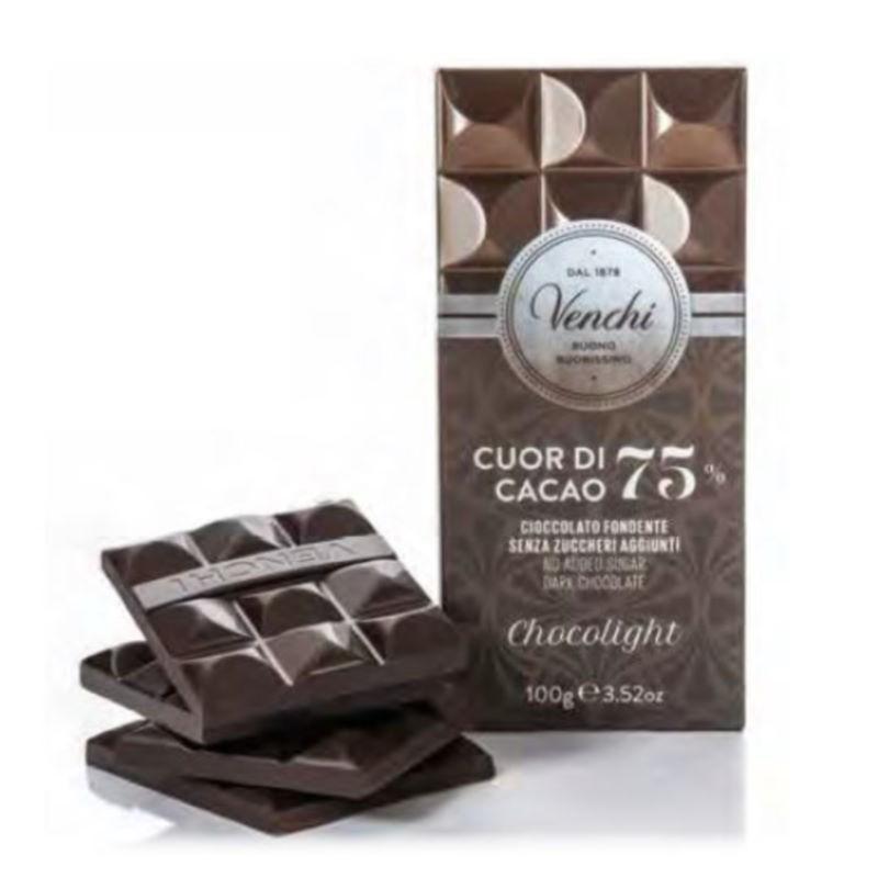 Tavoletta Chocolight Fondente 75% Venchi