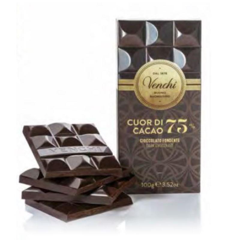 Tavoletta Cuor di Cacao 75% Venchi