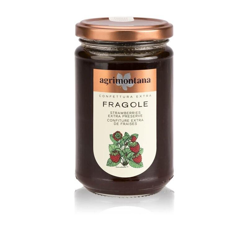 Confettura di fragole Agrimontana