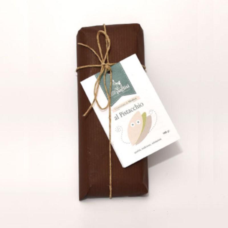 Cioccolata Modicana al Pistacchio Don Puglisi