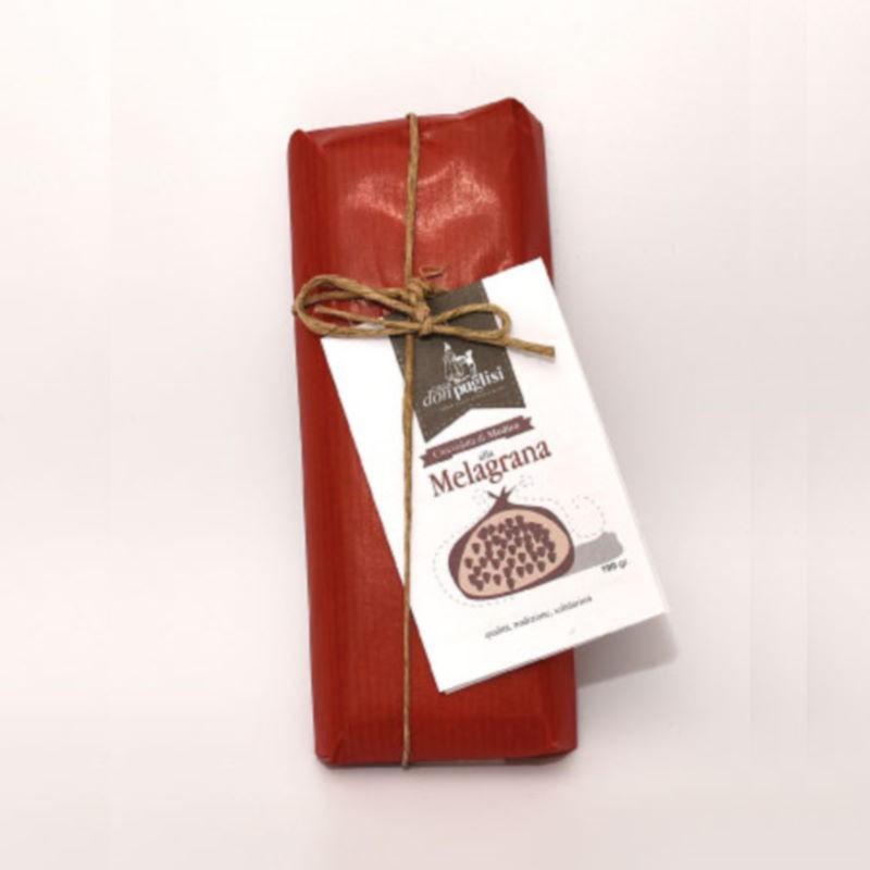 Cioccolata Modicana alla Melagrana Don Puglisi