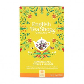 Infuso Lemongrass e Zenzero English Tea Shop
