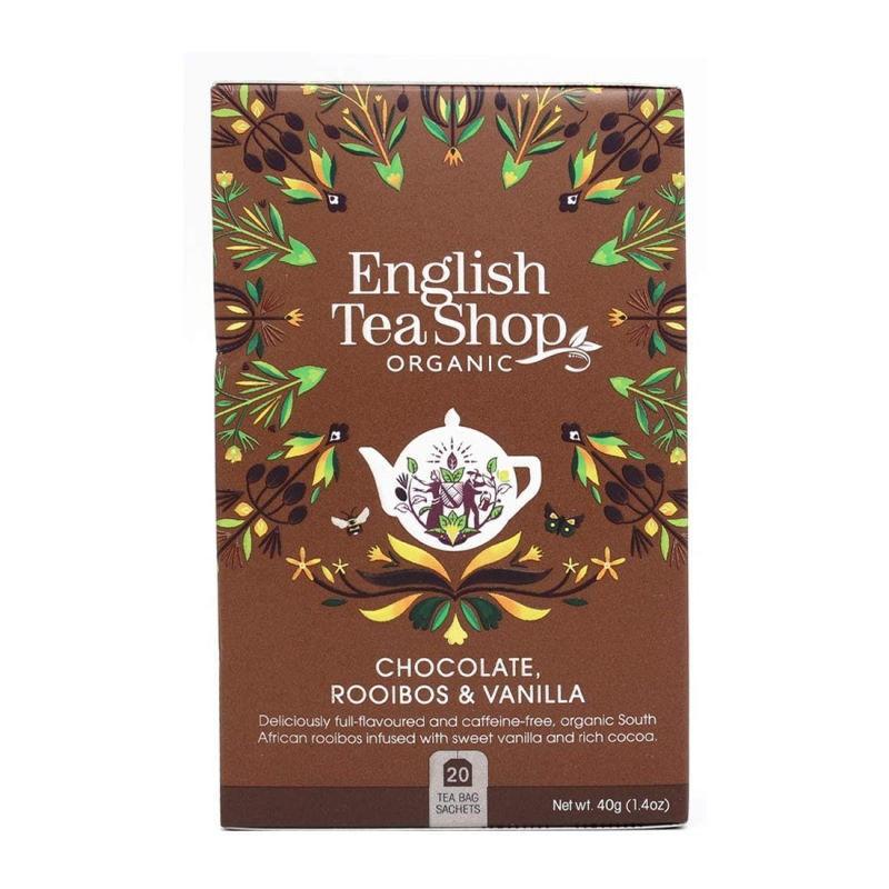 Infuso Rooibos Cioccolato e Vaniglia English Tea Shop