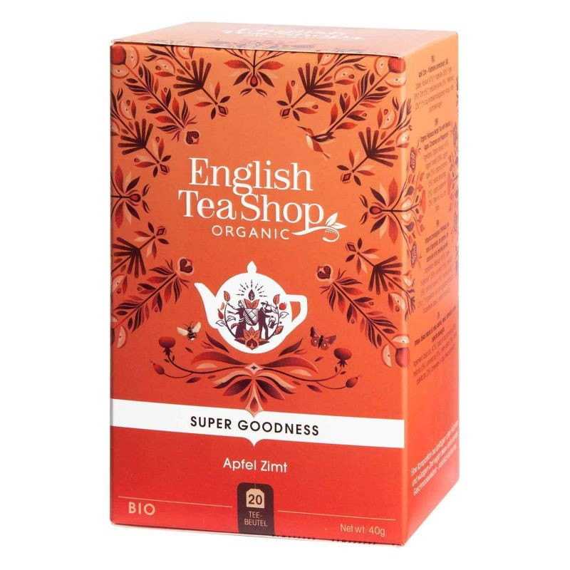 Infuso Mela Cannella e Rosa Canina English Tea Shop