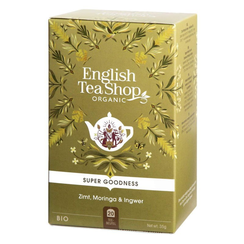 Infuso cannella Moringa e Zenzero English Tea Shop
