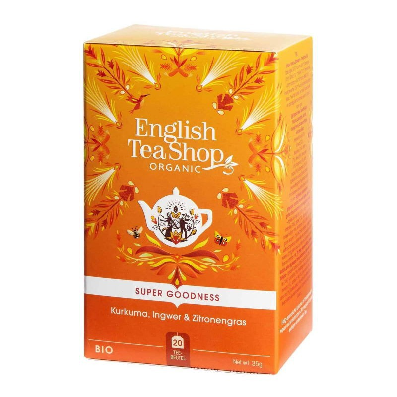 Infuso Curcuma Zenzero e Lemongrass English Tea Shop