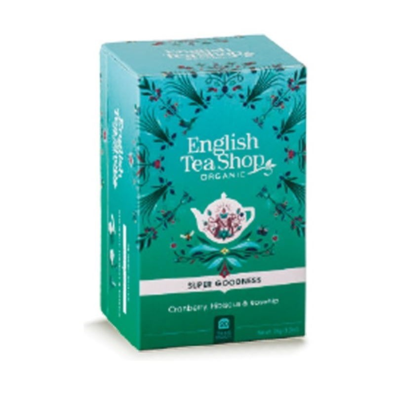 Infuso Mirtillo Rosso, Ibisco e Rosa Canina English Tea Shop
