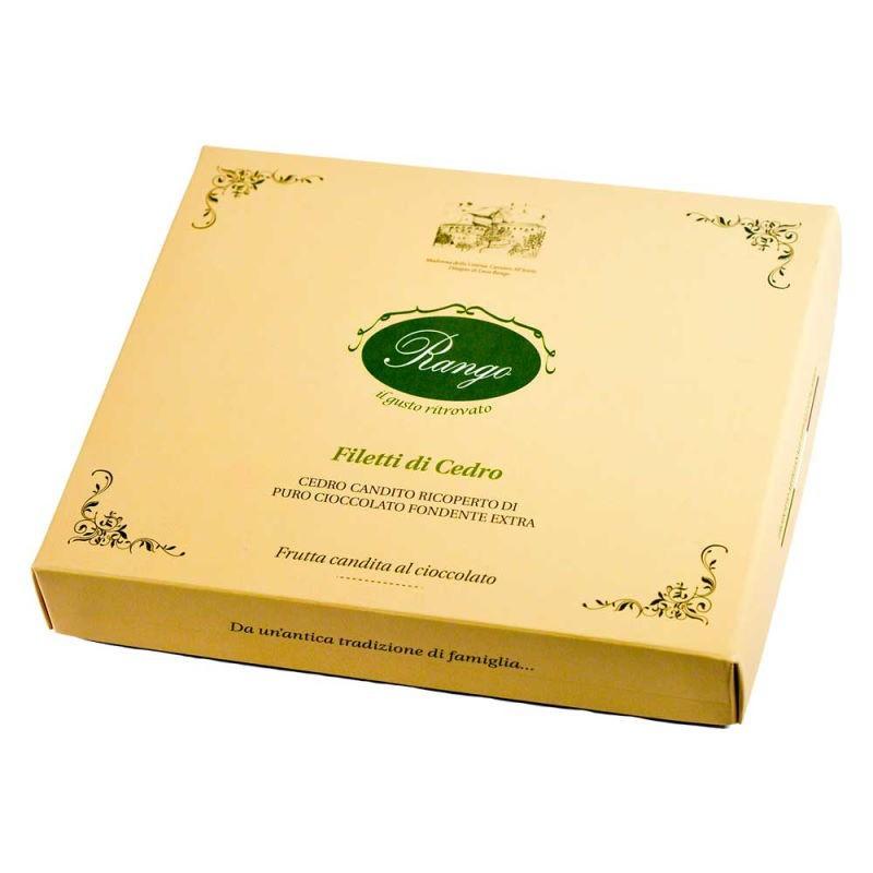 Filetti di Cedro Candito al Cioccolato Rango