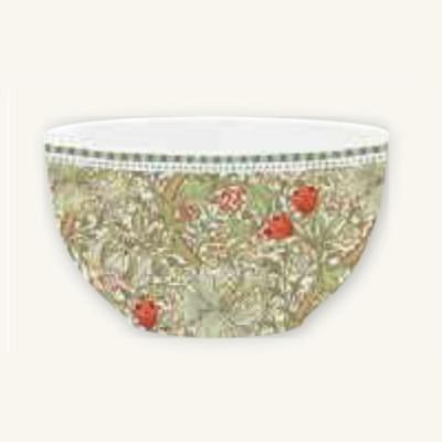 Ciotola in Porcellana William Morris Green Easy Life