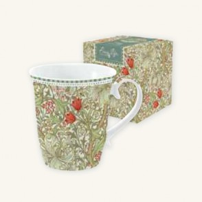 Tazza in Porcellana William Morris Green Easy Life da 275 ml.