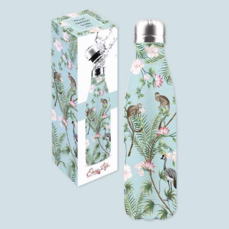 Bottiglia in Acciaio Wild Tropical Easy Life