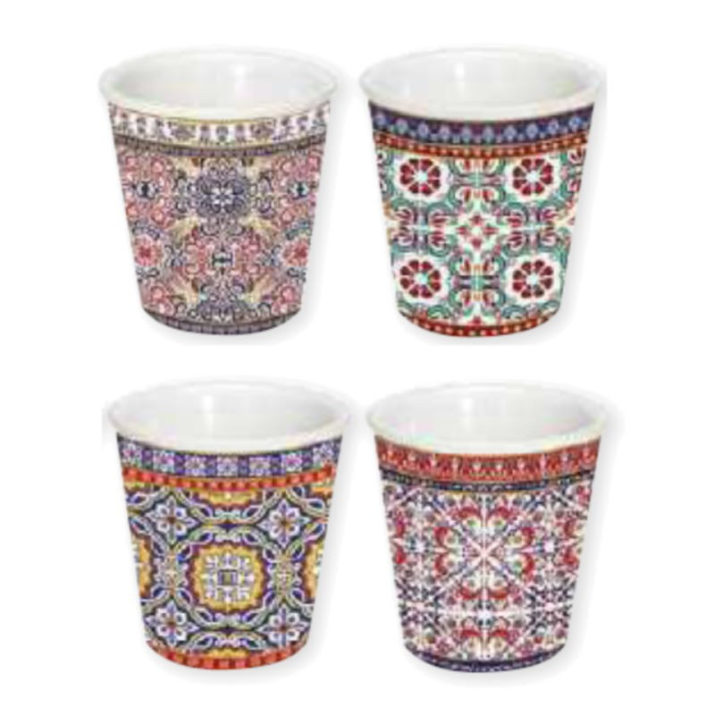 Set 4 Bicchierini Caffè Morocco Easy Life