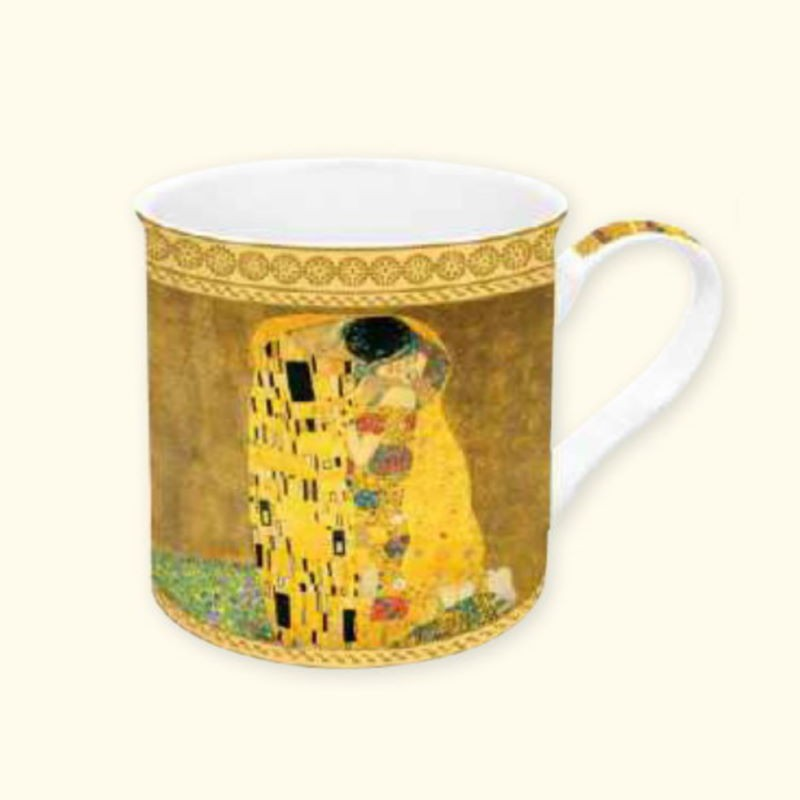 Mug in Porcellana Klimt Easy Life