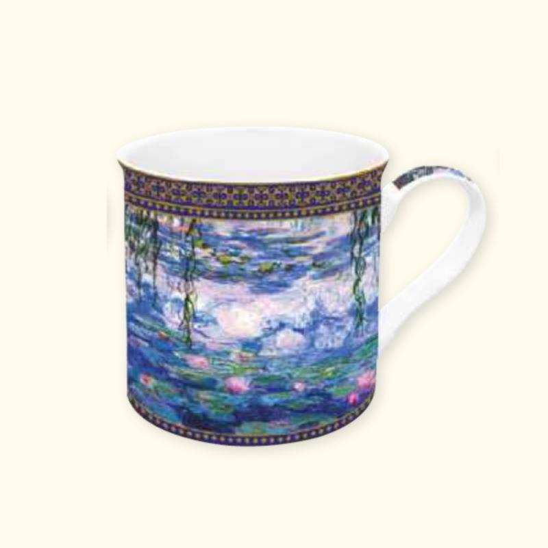 Mug in Porcellana Monet 3 Easy Life