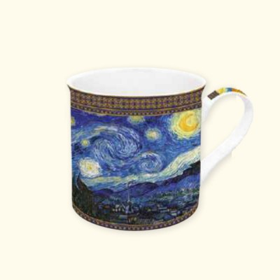 Mug in Porcellana Van Gogh 4 Easy Life