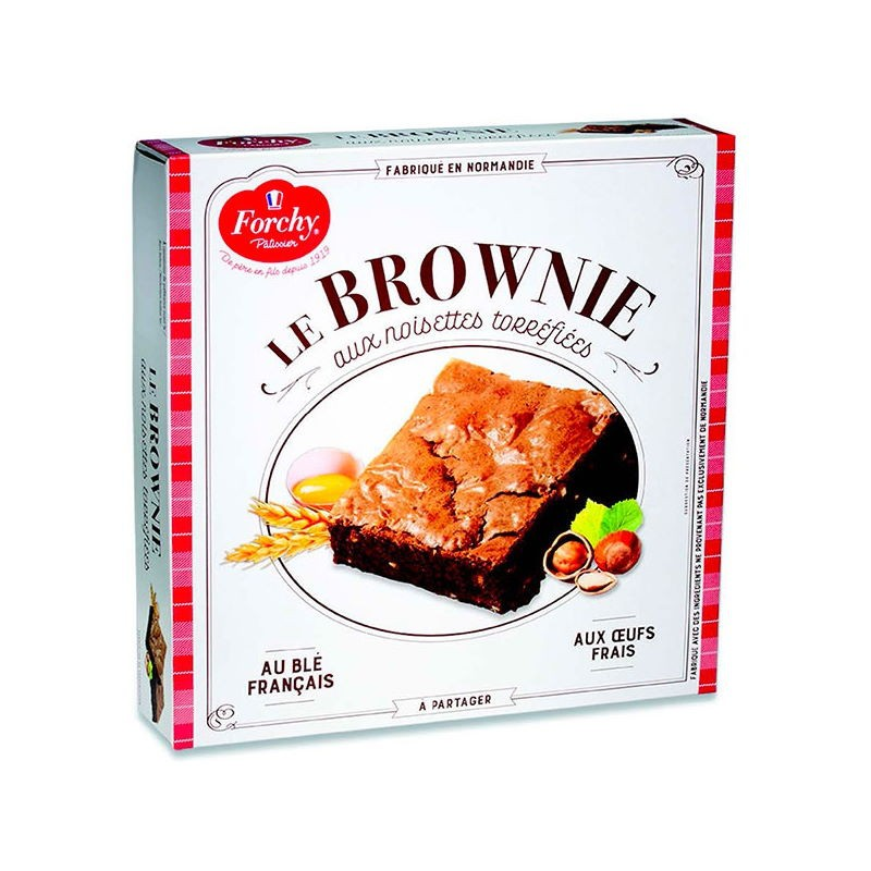 Brownie alle Nocciole Forchy Patisserie