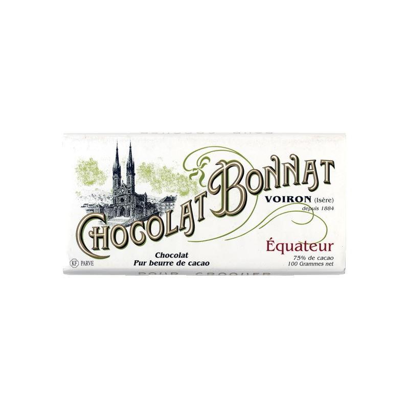 Tavoletta Ecuador 75% Bonnat