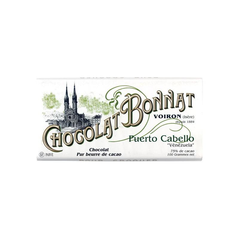 Tavoletta Puerto Cabello 75% Bonnat